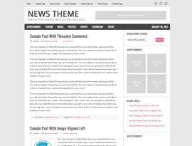 News pink ~ Genesis Prémium WordPress sablon