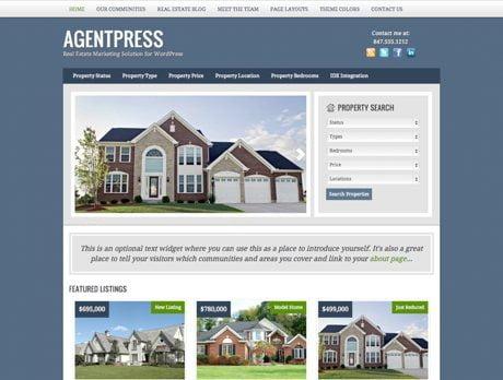 AgentPress ~ Genesis WordPress sablon