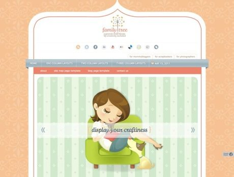Family Tree ~ Genesis WordPress sablon