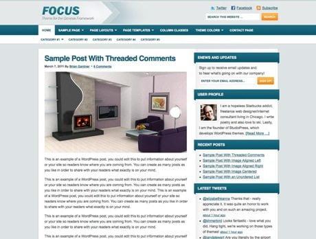 Focus ~ Genesis WordPress sablon
