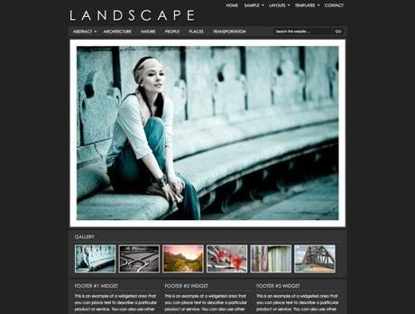 Landscape ~ Genesis WordPress sablon